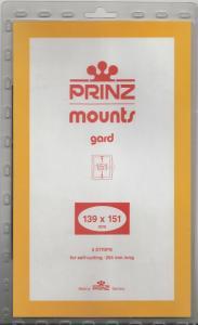 PRINZ BLACK MOUNTS 139X151 (5) RETAIL PRICE $10.50