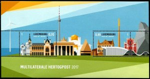 HERRICKSTAMP NEW ISSUES LUXEMBOURG Sc.# 1470 Philatelic Exhibition Joint Issue