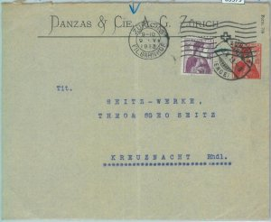85379 - SWITZERLAND - POSTAL HISTORY - Private STATIONERY COVER  1913