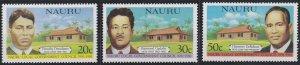 Nauru 224-226 MNH (1981)