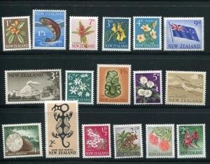 New Zealand #333-49 Mint