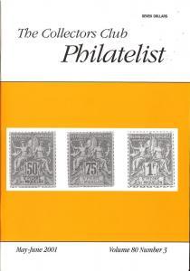 The Collectors Club Philatelist, Vol 80, No. 3, May-June ...