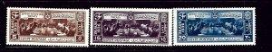 Egypt 203-05 MNH 1936 Anglo-Egyptian Treaty  #2