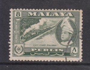 Malaya Perlis 1957 Sc 33 8c Used