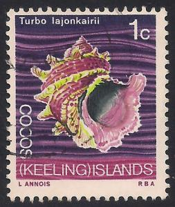 Cocos Islands 8 Used VF