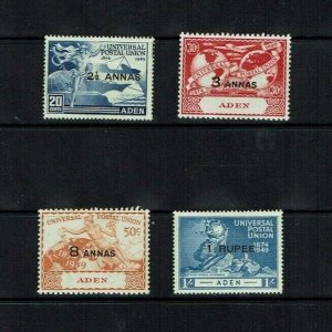 Aden: 1949  UPU Anniversary,  Mint