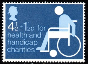1975 Sg 970 Health and Handicap Funds Unmounted Mint