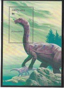 1994  GRENADA  -  SG.  MS  2706B  -  PLATEOSAURUS  -  MNH