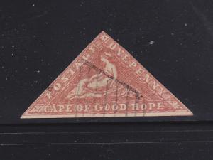 Cape of Good Hope 7 U Hope Seated SCV $2750.00