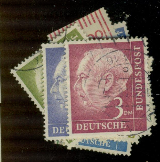 Germany #702-21 Used F-VF Cat$22.10