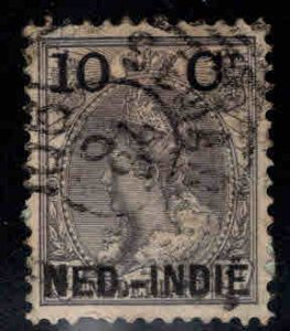 Netherlands Indies  Scott 31 used  surcharged stamp