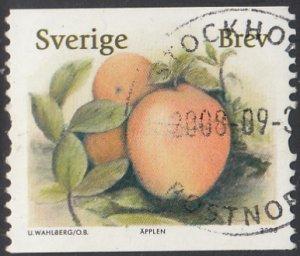 Sweden 2008 used Sc 2594 (5.50k) Apples