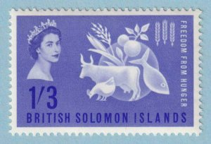BRITISH SOLOMON ISLANDS 109  MINT NEVER HINGED OG ** NO FAULTS EXTRA FINE!