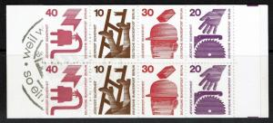 Germany SC# 1075c, Complete Booklet, Mint Never Hinged - Lot 071317