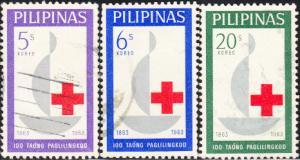 Phillipines # 886-888 Used Set