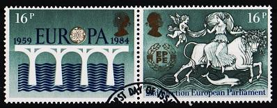Great Britain.1984 16p(Pair) S.G.1249/1250 Fine Used
