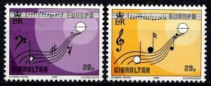 Gibraltar 1985 SG 516-517 MNH (10495)