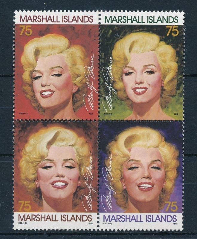 [24391] Marshall Islands 1995 Marilyn Monroe  MNH