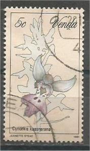 VENDA, 1981, used 5c, Orchids, Scott 48