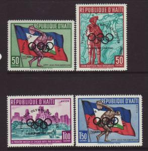1960 Haiti 1st Olympic Set U/M