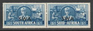 SOUTH WEST AFRICA 1941 WAR EFFORT 3D PAIR MNH **