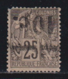 French Congo 1891-92 SC 8A MLH