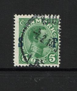 Denmark SC# M1, Used, Hinge Remnant - S5304