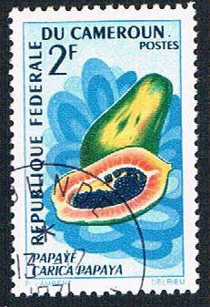 Cameroun 461 Used Papaya (BP654)