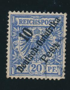 German East Africa Stamp Scott #9, Used, Light Cancel, Nice Centering - Free ...