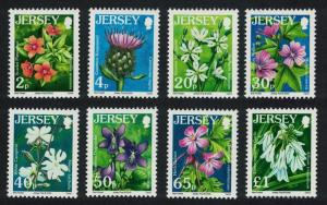 Jersey Wild Flowers 8v 1st issue SG#1211=32