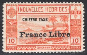 NEW HEBRIDES-FRENCH SCOTT J12