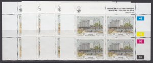 Namibia, Scott 666-669, MNH blocks of four