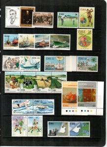 Ireland Scott 836 // 961 Mint NH sets (Catalog Value $51.05)