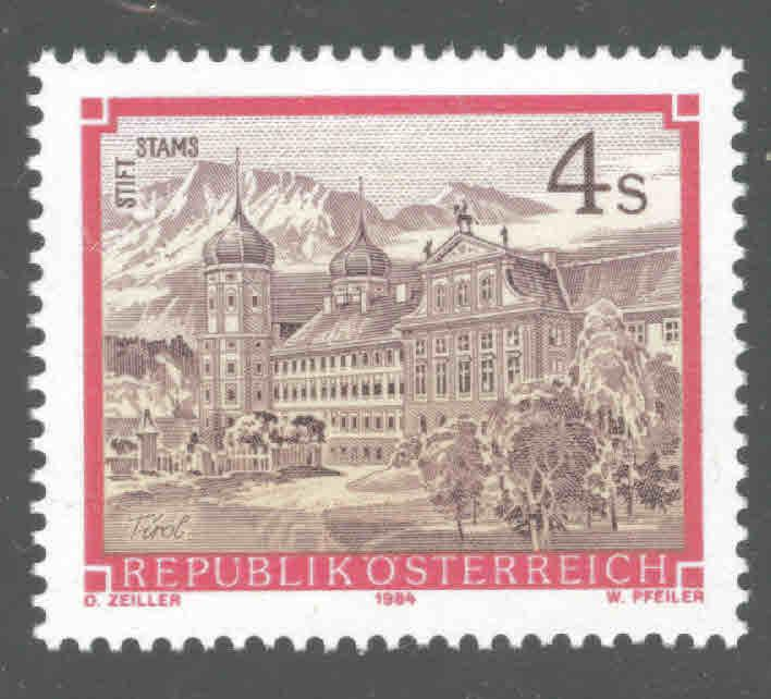Austria Osterreich Scott 1286 MNH** from 1984-85 Monastery Abbey set