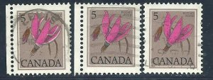 Can #710   (3)    used VF 1977 PD