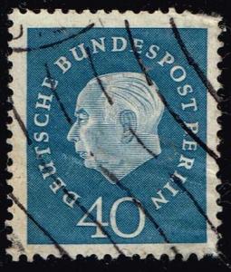 Germany #796 Theodor Heuss; Used (0.90)