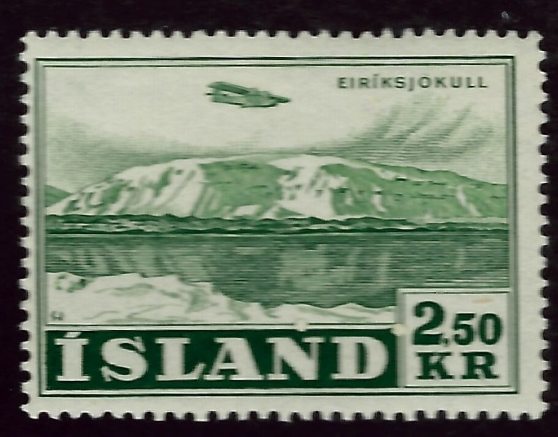 Iceland SC C28 Mint F-VF SCV$37.50..Fill a Key Spot!!