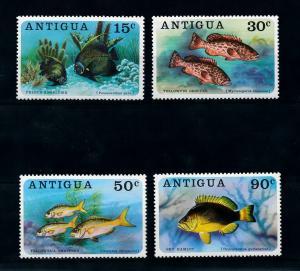 [99627] Antigua 1976 Marine Life Fish  MNH