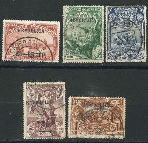 Azores 142/47 Used F/VF 1911 SCV $6.65