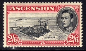 Ascension Island 1938 – 53 KGV1 2/-6d The Pier MM SG 45 ( F74 )