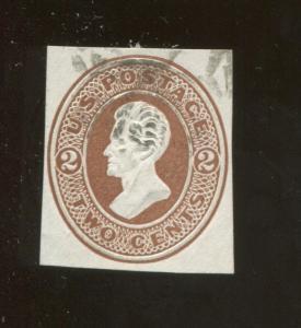 1870 United States of America Andrew Jackson 2c Postage Stamp #U78 CV $20