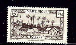Martinique 168 MH 1940 issue