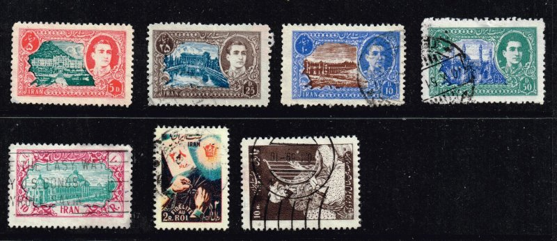 IRAN PERSIA Stamp  USED STAMPS COLLECTION LOT #1