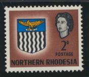 Northern Rhodesia  SG 77 SC# 77 MH - see details