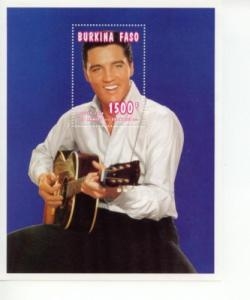 1995 Burkina Faso Elvis Presley (Scott 1062) SS MNH