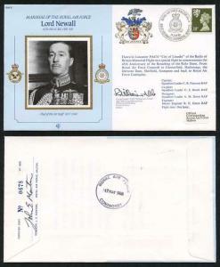 CDM4b MRAF Sir Edward Ellington Signed by AVM D.T. Bryant (A)
