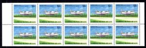 Marshall Islands C22a Airplanes Booklet Pane MNH VF