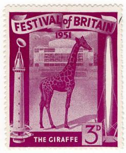 (I.B-CK) Cinderella Collection : Festival of Britain 3d (The Giraffe)