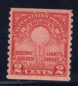 U.S. 656 NH 1929 Coil Single