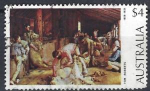 Australia 1974  Paintings  ~  $4   used ~  SG 556b